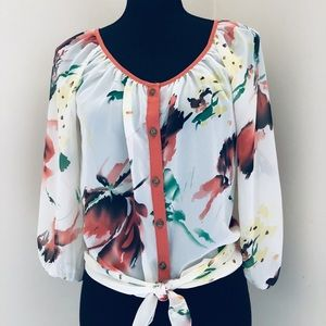 Daytrip Buckle Top Size Small